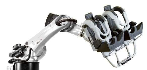 Kuka Coaster Industrieroboter