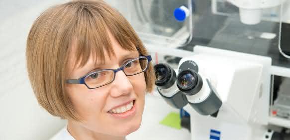 Privatdozentin Dr. Sandra Blaess vom Institut für Rekonstruktive Neurobiologie und dem Life & Brain Zentrum der Universität Bonn