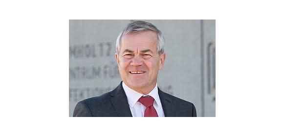 """Prof. Rolf Hartmann, Leiter der Abteilung """"Wirkstoffdesign und Optimierung"""" am Helmholtz-Institut für Pharmazeutische Forschung Saarland (HIPS) in Saarbrücken. (Bild: Puetz Joerg)"""