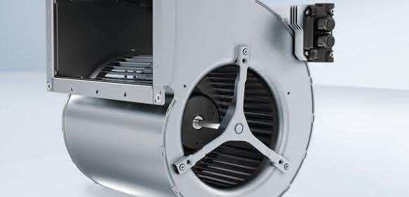 EC-Trommelläufer-Ventilator