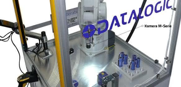 Datalogic Roboter Automatische Lasermarkierung