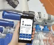 Via Smartphone oder Tablet einfachen Zugriff auf Service- und Wartungsinformationen haben