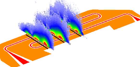 Durch Messungen der Spinänderung von Atomen oder Elektronen lassen sich Mikrowellenfelder genauestens abbilden. (Bild: Universität Basel, Departement Physik)