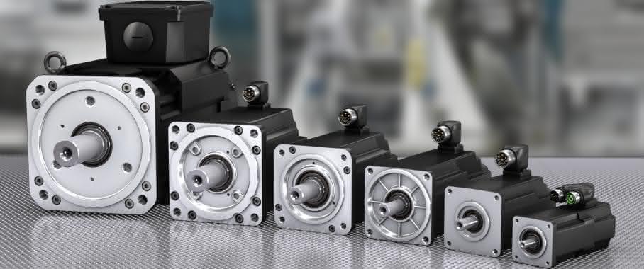 Synchronservomotor-Baureihe MS2N von Bosch Rexroth