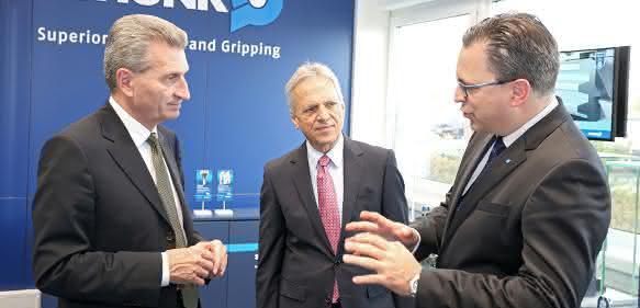 Oettinger bei Schunk Erläuterungen