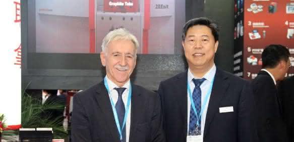 Klaus Berka und Zhao Tai