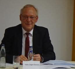 Iscar-Geschäftsführer Hans-Jürgen Büchner