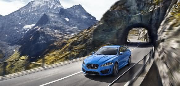 Jaguar mit Schwingungsdämpfern von Winkelmann