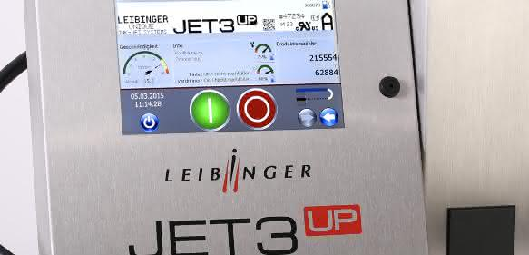 Continuous Ink-Jet-Drucker Jet3up von Leibinger