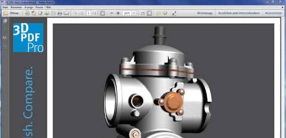 3D pdf-Dokumente