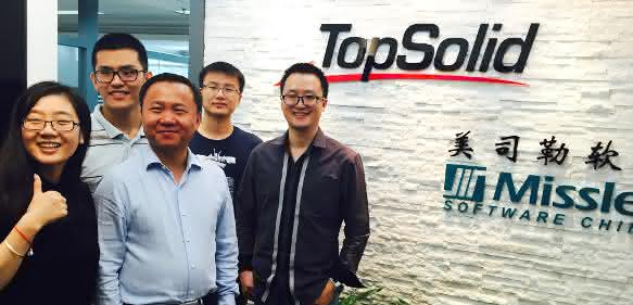 Das Team von Missler Software China