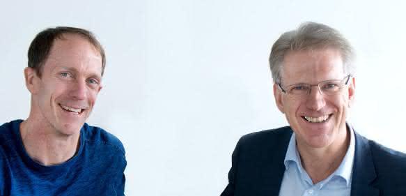 Eric Liedtke, Adidas, und Dieter Manz, Manz AG