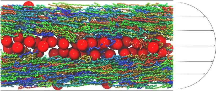 Kolloid-Polymer-Gemisch