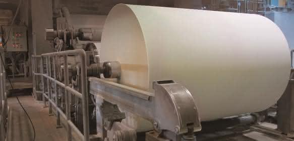 Tsubaki Antriebselemente in der Papierherstellung