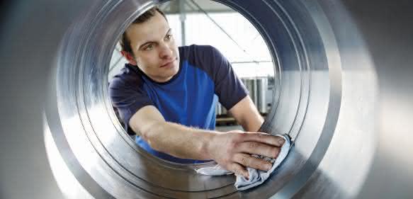 Herstellung von Hydraulikzylindern