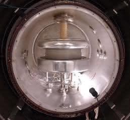 Blick ins Spektrometer