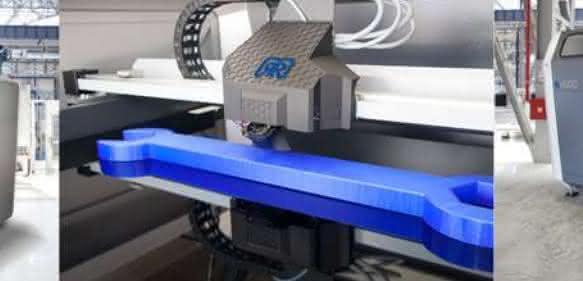 Großraum 3D-Drucker