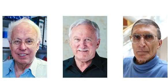 Chemie-Nobelpreis-Laureaten