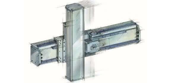 Portal-Lineareinheiten für Maschinenverkettungen von HSB Automation