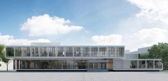 Innovationszentrum in Darmstadt
