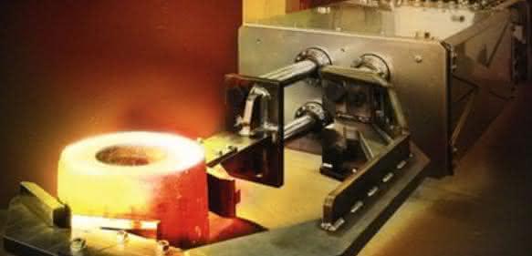 Automatisierungsgerechtes Greifwerkzeug für Schmiedewerkstücke