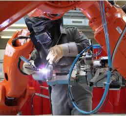 ABB Roboter bei Leiber