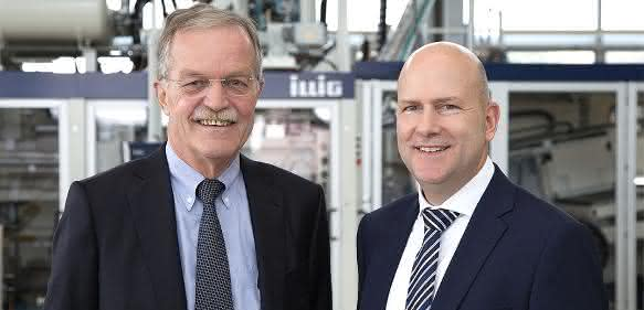 Karl Schäuble (links) und Heinrich Sielemann