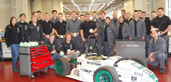 Walter Tools unterstützt Formula Student Electric