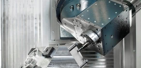 5-Achsbearbeitungszentrum FP 4000 Heller