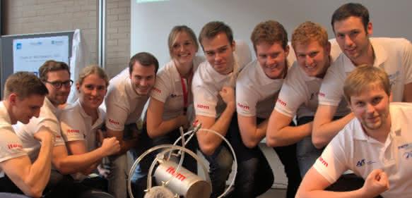 Team der RWTH Aachen gewinnt ChemCar-Wettbewerb 2015. (Bild: 4FFK media)