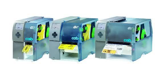 Industriedrucker der Baureihe A+ von Cab auf der Fachpack