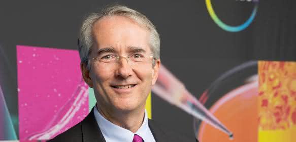 """Covestro-Vorstandschef Patrick Thomas: """"Nachhaltigkeit ist die Basis für unsere gesamten Geschäftstätigkeit"""". (Bild: Covestro)"""