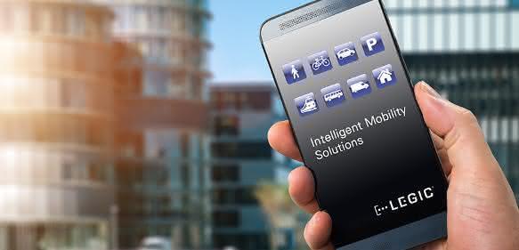 Smartphone Legic Cloudservice