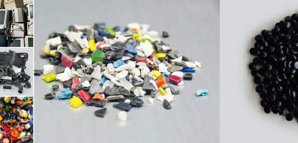 Recycliertes Mahlgut als Alternative zu Neuware bietet Kunststoffverarbeiten Kostensenkungspotenziale. Bild: Erema)