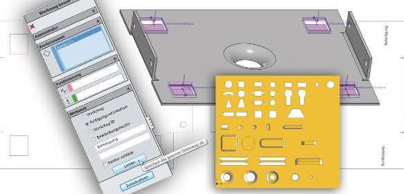 CAD für Blech- und Rohrkonstruktion: Denken, lernen und - nicht vergessen