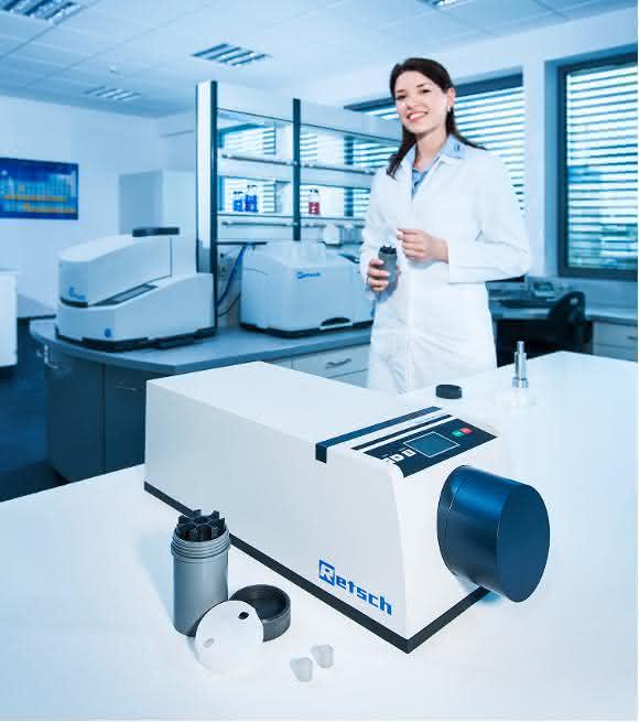 XRD-Mill McCrone, RETSCH GmbH