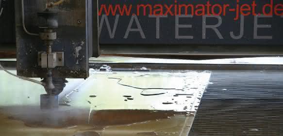 Maximator Jet Premium 3D-Schneidanlage