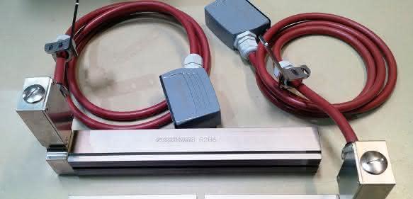 Rovema-Elmedur-Backen mit Elektroanschluss