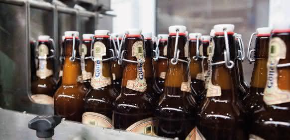 Abfüllanlage der Brauerei Göller