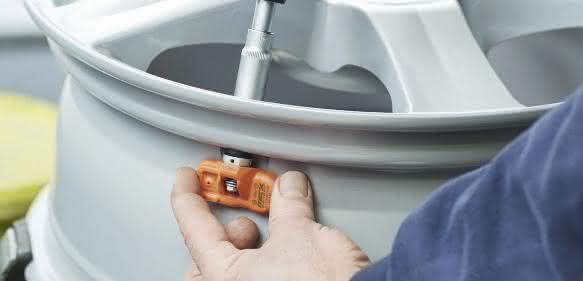 Werkzeugset für die Reifendrucksensor-Montage