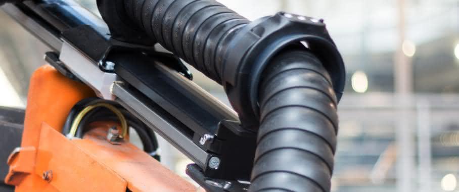 triflex RSE-Rückzugsystem für Industrieroboter