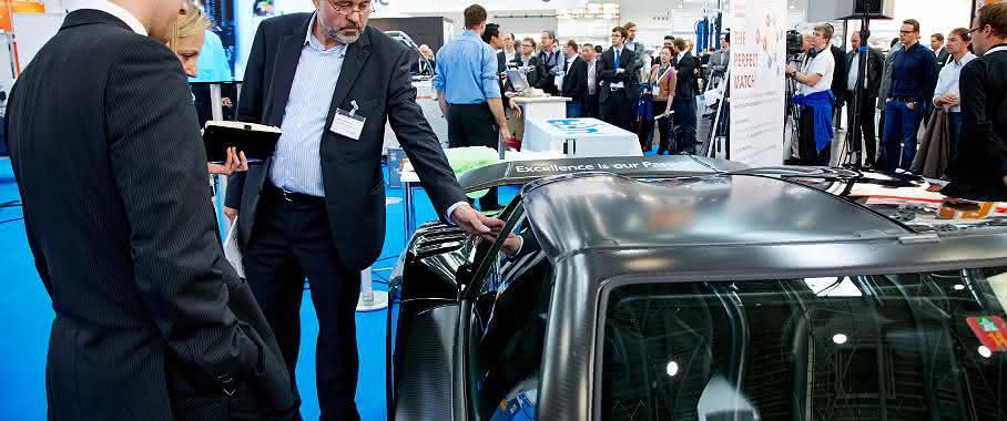 Leichtbau: Composites Europe 2015: Verbundwerkstoffe sind der Schlüssel