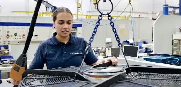 Vanessa Eichhorn, Elektronikerin bei Ziehl-Abegg