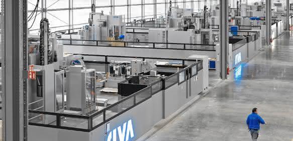 SHW-Werkzeugmaschinen bearbeiten bei Riva in Backnang Werkstücke aus Edelstahl und Aluminium für Mekka