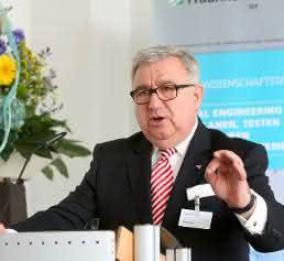 Dieter Spath, Vorstandsvorsitzender der Wittenstein AG