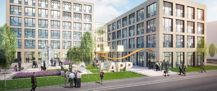 Lapp Gruppe eröffnet neue Firmenzentrale