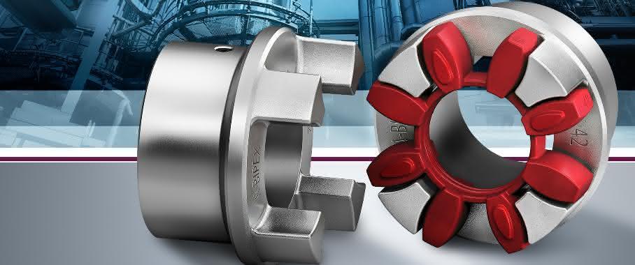 Elastische Klauenkupplung von Siemens