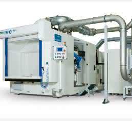 Anlage zum 3D-Laserschneiden von Metall und Kunststoff