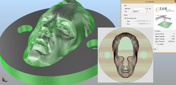 Laserbearbeitungs-Software von CAM-Service