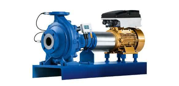 """KSB bietet eine 45-kW-Version des Drehzahlregelsystems für Kreiselpumpen """"Pump Drive"""""""